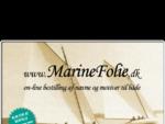 MarineFolie - Bådnavn og motiver til både
