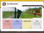 Marioki - uvozne pocinkovane i plastificirane montazne celicne ograde