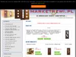 marketdrzwi. pl - sklep internetowy a w nim drzwi, ościeżnice, klamki, futryny
