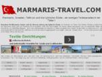 Marmaris, Icmelder und die lykische Kueste in der Tuerkei