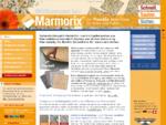 Marmorix® - SteinteppichNatursteinteppich aus flexiblen Bodenfliesen | Home
