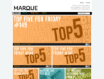 Marque. Branding and design agency. Auckland New Zealand.