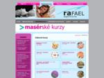 Masérské a masážní kurzy - seznam kurzů
