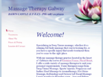 Massage Therapy Galway - Home