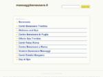 Massimiliano, massaggiatore olistico. – Massaggi – Reiki – Riflessologia – Thai -