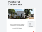 Masseria Carbonara il tuo bed and breakfast in Puglia