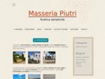 Azienda agrituristica Masseria Piutri