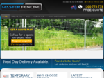 Temporary Fencing in Melbourne - Hire from Master Fencing