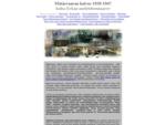 Matasvaaran toisen maailmansodan aikainen kaivos ja molybdeeni ja sen historia