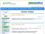 . Matefilia, il sito del prof. Giuseppe Scoleri dedicato agli amici della Matematica .