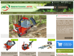 Matériel Forestier ASTIC treuils forestiers, fendeuses, grues, combines, scies, ...