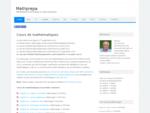 Cours de mathématiques en MPSI | Mathprepa