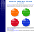 Maths Software (Mathematics Software, Math Software) for Year 8, 9, 10 and 11 Students