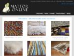 Mattor Online - fouml;r vackra handknutna mattor i naturmaterial.