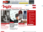 MAX Das Magazin für Popkultur und Style