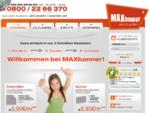 MAXbanner.de - FASZINIEREN
