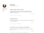 e-Maxime - Entrepreneur, programmeur PHP et architecte logiciel - Blog de Maxime Garcia