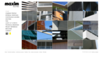Maxim Fins - Extruded Aluminium Blades Aluminium Shutters Louvres External Venetian Blinds - M