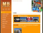 . MB Event . Projektovanje, izrada i montaža sajamskih štandova