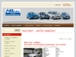 NOVINKY - AKČNÍ NABÍDKY - Autobazar MB CAR - ojetá auta, ojetiny, ojeté vozy, ojeté automobily,