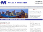 McCall and Associates, Lawyers, Barristers and Solicitors Home Page