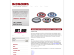 McCracken's Sportswear Goods Wholesale - Christchurch, New Zealand