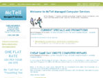 McTell Managed IT Services - Computer Repairs | 24 Hour | Brisbane | Gold Coast | Southside