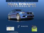 Mats Eriksson i Stockholm AB