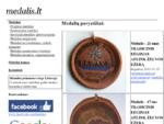 Medaliai | Medalių Gamyba | info medalis. lt | medalis. lt | proginiai medaliai | suvenyriniai