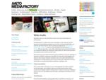 Web studio | Media Factory at Aalto University