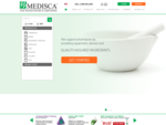 Medisca | Landing Page | Active Pharmaceutical Ingredients | Pharmacy Compounding