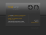 medScript Communications Exceptional medical communication strategies
