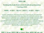 mefc, Mobilespültechnikverleih Eventverleih Fettabscheiderverleih Cateringausstattung, ditib, ...
