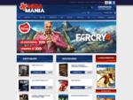 MegaMania - Loja Online para venda de jogos novos e usados, consolas e acessórios.