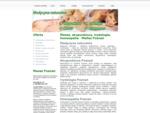 Masaż, akupunktura, irydologia, homeopatia - Melisa Poznań