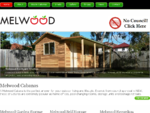 Melwood Timber Sheds, Studios, Cabanas, Cubbies, Kennels and Aviaries Sydney