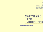 MEMOIRE, Software fuuml;r Juweliere