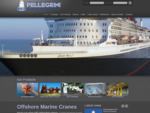 Marine equipments and cranes | Marine Equipments Pellegrini S. r. l.
