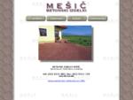 Betonski izdelki MEŠIÈ - tlakovci, zidaki, robniki ter ostali betonski izdelki, .. tlakovec polag