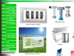 Messebaumarkt - prauml;sentieren - werben - verkaufen. Banner-Rahmen, Theken, Pulte, ...