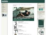 Startside - Metabo Norge - Elektroverktøy fra de proffe for de proffe