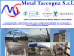 Metal Taccogna S. r. l. - Carpenteria in ferro Strutture portanti Scale di sicurezza Soppalchi
