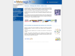 Metatags Site Officiel | metatags sont hyper actuels - méta-balises - Metatags. fr Site Officiel