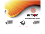 METEOR BARCODE. Mobile Data Capture Terminals, Hand Held Scanners, Label Printers, Access Control, ...