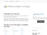 Meteorologia Portugal, Tempo, Previsão Meteorológica