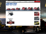Metro Tow Trucks - The Ultimate in Towing and Recovery