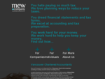 Vancouver Accountant, Vancouver Chartered Accountants, Vancouver Accounting Services| Mew and ..