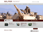 Milper - Advanced Rugged Systems for Military Environment
