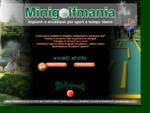 MINIGOLFMANIA - progettazione e costruzione campi da minigolf e adventure golf - vendita