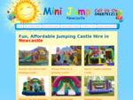 Hire Kids Birthday Party Jumping Castles in Newcastle Central Coast